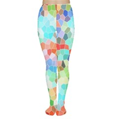 Colorful Mosaic  Women s Tights by designworld65