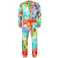 Colorful Mosaic  Onepiece Jumpsuit (men)  by designworld65