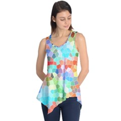 Colorful Mosaic  Sleeveless Tunic by designworld65