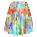 Colorful Mosaic  High Waist Skirt View2