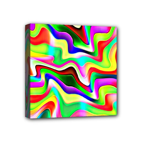 Irritation Colorful Dream Mini Canvas 4  X 4  by designworld65