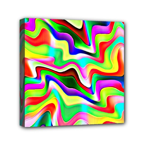 Irritation Colorful Dream Mini Canvas 6  x 6