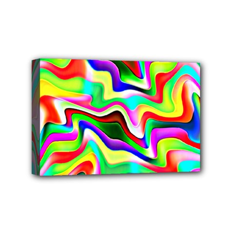 Irritation Colorful Dream Mini Canvas 6  x 4