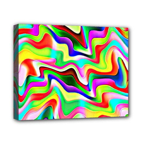Irritation Colorful Dream Canvas 10  x 8