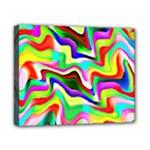 Irritation Colorful Dream Canvas 10  x 8