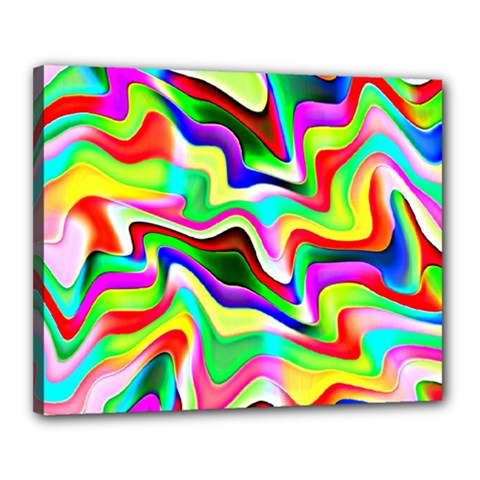 Irritation Colorful Dream Canvas 20  X 16  by designworld65