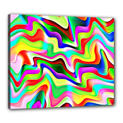 Irritation Colorful Dream Canvas 24  x 20
