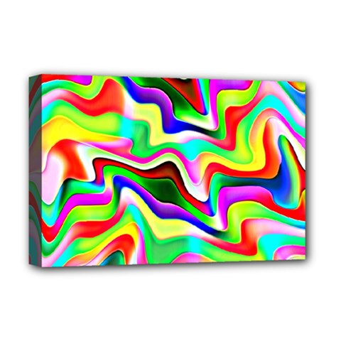 Irritation Colorful Dream Deluxe Canvas 18  x 12
