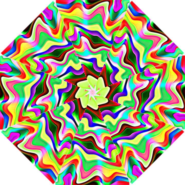 Irritation Colorful Dream Hook Handle Umbrellas (Small)