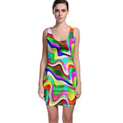 Irritation Colorful Dream Sleeveless Bodycon Dress