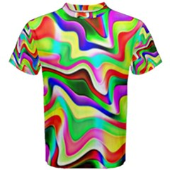 Irritation Colorful Dream Men s Cotton Tee by designworld65