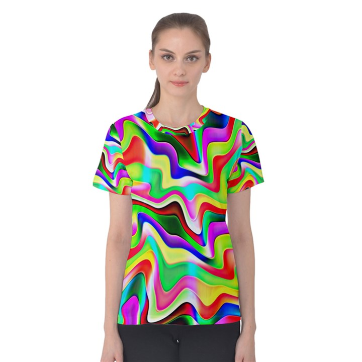 Irritation Colorful Dream Women s Cotton Tee