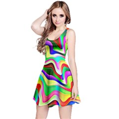 Irritation Colorful Dream Reversible Sleeveless Dress