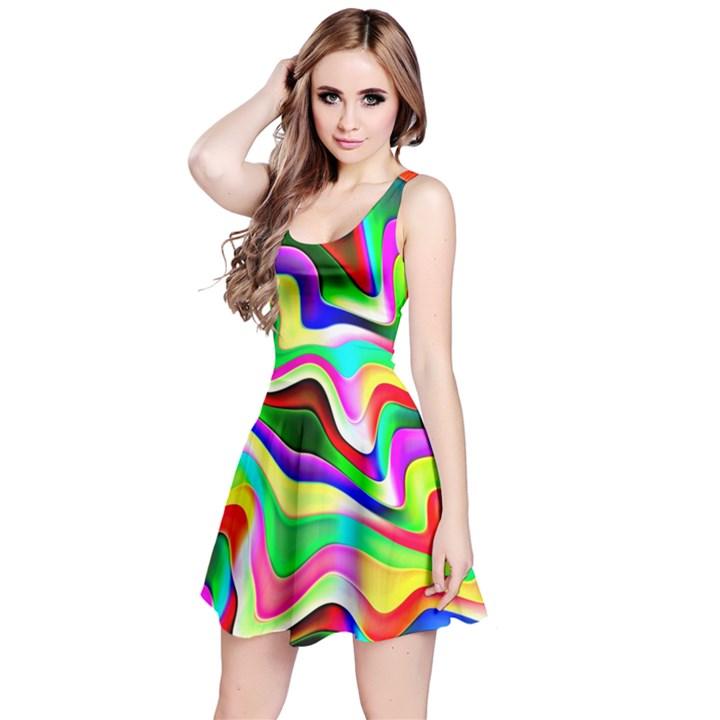 Irritation Colorful Dream Reversible Sleeveless Dress