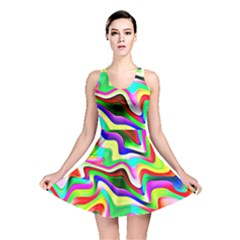Irritation Colorful Dream Reversible Skater Dress by designworld65