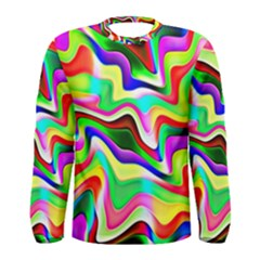 Irritation Colorful Dream Men s Long Sleeve Tee