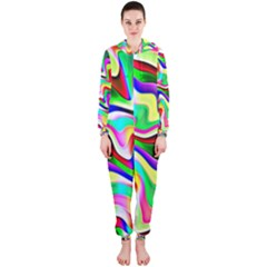 Irritation Colorful Dream Hooded Jumpsuit (Ladies)