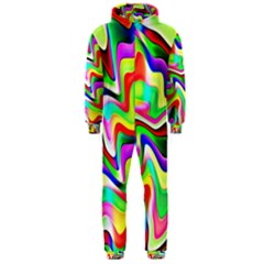 Irritation Colorful Dream Hooded Jumpsuit (men)