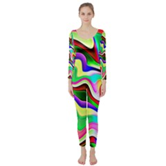 Irritation Colorful Dream Long Sleeve Catsuit
