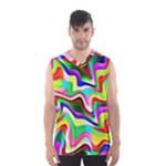 Irritation Colorful Dream Men s Basketball Tank Top