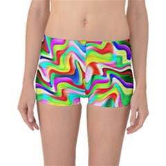 Irritation Colorful Dream Boyleg Bikini Bottoms