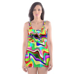 Irritation Colorful Dream Skater Dress Swimsuit