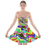 Irritation Colorful Dream Strapless Bra Top Dress