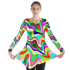 Irritation Colorful Dream Long Sleeve Tunic