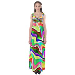 Irritation Colorful Dream Empire Waist Maxi Dress