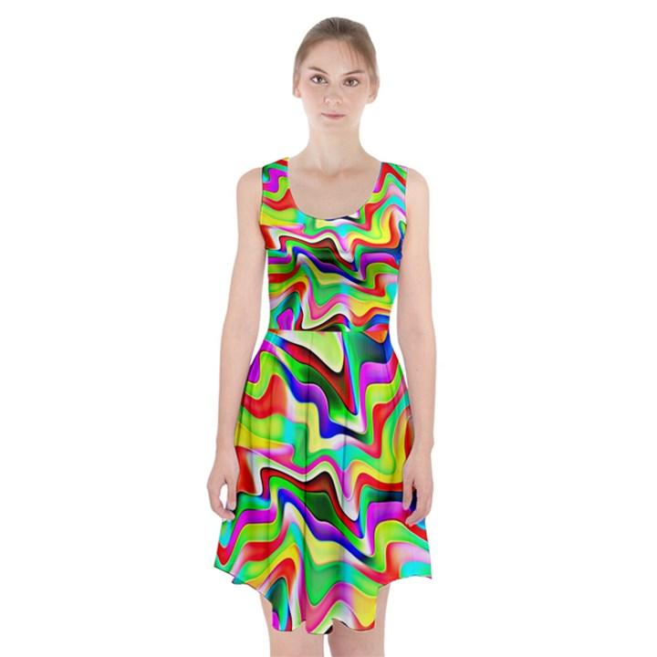 Irritation Colorful Dream Racerback Midi Dress