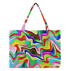 Irritation Colorful Dream Medium Tote Bag by designworld65
