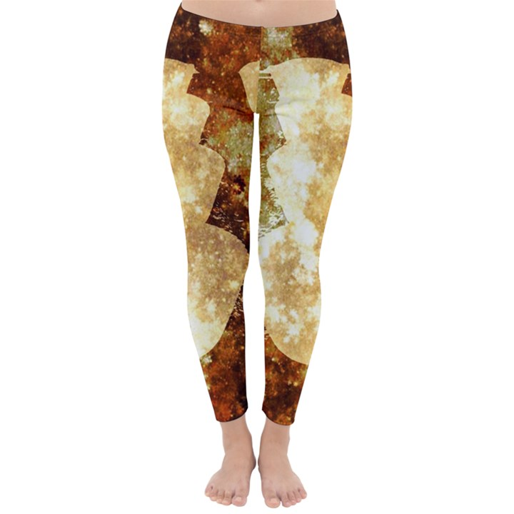 Sparkling Lights Winter Leggings