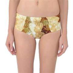 Sparkling Lights Mid-Waist Bikini Bottoms