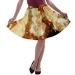 Sparkling Lights A-line Skater Skirt