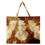 Sparkling Lights Zipper Large Tote Bag