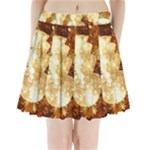 Sparkling Lights Pleated Mini Skirt
