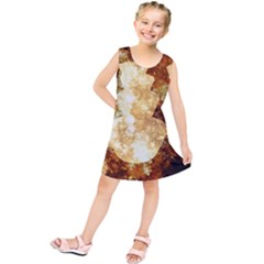 Sparkling Lights Kids  Tunic Dress by yoursparklingshop