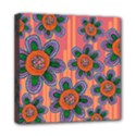 Colorful Floral Dream Mini Canvas 8  x 8  View1