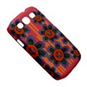 Colorful Floral Dream Samsung Galaxy S III Classic Hardshell Case (PC+Silicone) View5