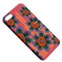 Colorful Floral Dream Apple iPhone 5 Hardshell Case with Stand View5