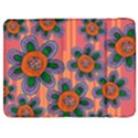 Colorful Floral Dream Samsung Galaxy Tab 7  P1000 Flip Case View1