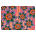 Colorful Floral Dream Samsung Galaxy Tab 8.9  P7300 Flip Case View1
