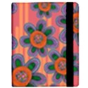 Colorful Floral Dream Samsung Galaxy Tab 8.9  P7300 Flip Case View2