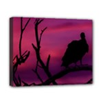 Vultures At Top Of Tree Silhouette Illustration Canvas 10  x 8
