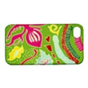 Green Organic Abstract Apple iPhone 4/4S Hardshell Case with Stand View1