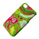 Green Organic Abstract Apple iPhone 4/4S Hardshell Case with Stand View4