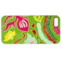 Green Organic Abstract Apple iPhone 5 Hardshell Case with Stand View1