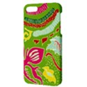 Green Organic Abstract Apple iPhone 5 Hardshell Case with Stand View3