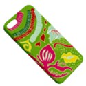 Green Organic Abstract Apple iPhone 5 Hardshell Case with Stand View5
