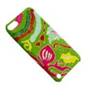 Green Organic Abstract Apple iPod Touch 5 Hardshell Case with Stand View5